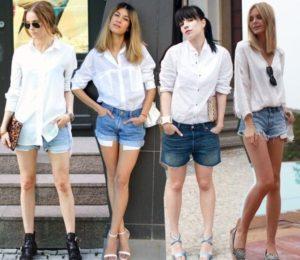 джинсовые шорты на каждый день