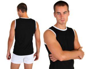 футболка без рукавов