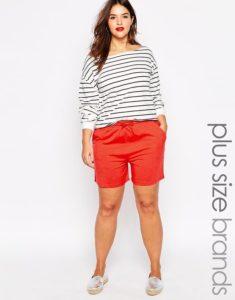 как выбрать красные шорты