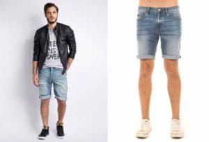 модели мужских шорт