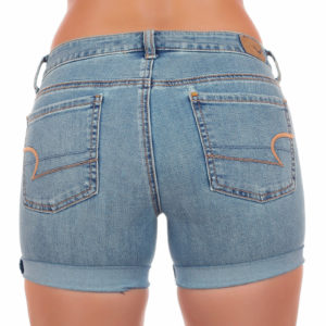 Как растянуть джинсовые шорты в бёдрах и поясе