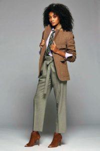 Брюки под коричневый пиджак