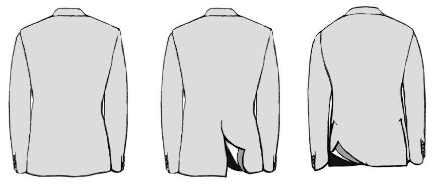 Шлицы на пиджаке