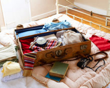 Как сложить чемодан
