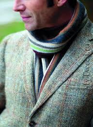 Лацканы твидового пиджака