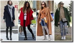 Луки с женским пальто оверсайз