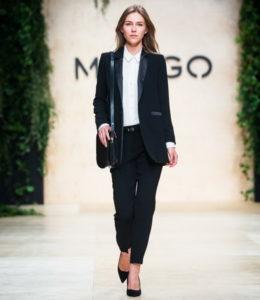 Модный образ пиджак и женские брюки