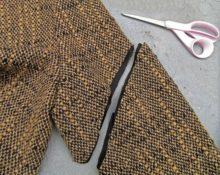 Переделка старого пальто
