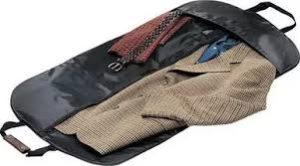 Перевозка пальто в чехле
