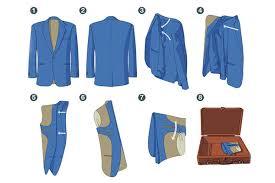 Пошаговое руководство, как сложить верхнюю одежду в чемодан