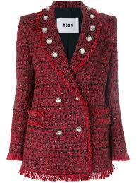 Пуговицы на твидовом пиджаке