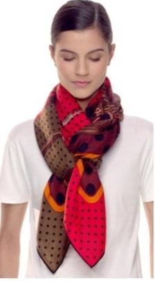Завязываем шарф