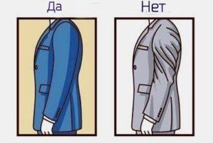 Посадка рукава пиджака