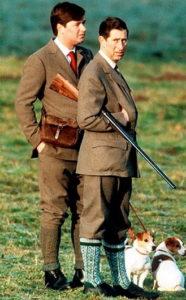 Твидовый пиджак для охоты
