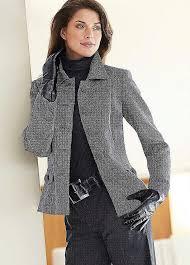 Женский твидовый пиджак в английском стиле