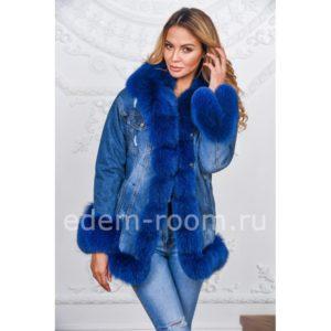 цвет курток с мехом