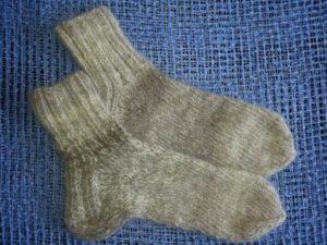 шерстяной носок