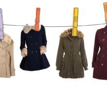 как стирать пальто дома