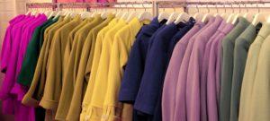 Многообразие цветовой палитры пальто