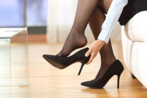 туфли с колготками