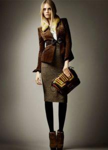 Юбка под  женский коричневый пиджак