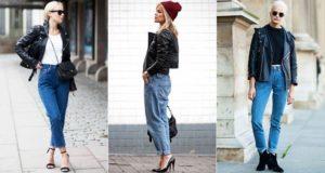 косуха с джинсами