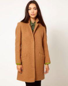 женское пальто честерфилд
