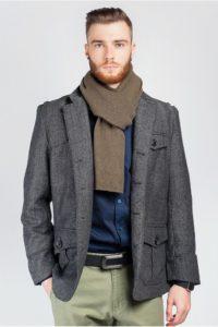 Модный образ с мужским пиджаком