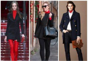 Универсальный женский пиджак черного цвета