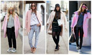 классические цвета с розовым