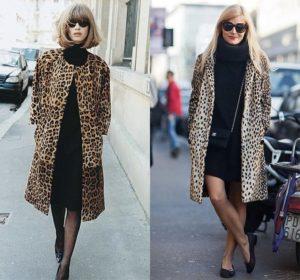 чёрный с леопардовым