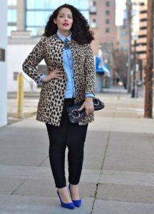 обувь к леопардовому принту