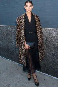 аксессуары к леопардовому пальто