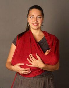 Слинг-шарф для новорожденных