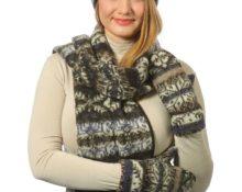 сколько пряжи нужно на шарф