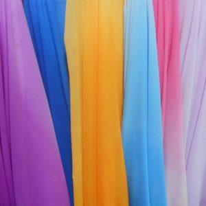 Выбор ткани для шарфа-колье