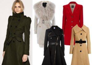 Зимние и демисезонные пальто