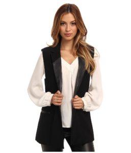 Женский пиджак без рукавов