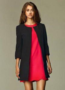 Женский пиджак с укороченными рукавами
