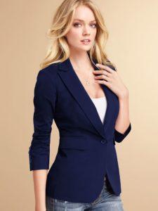 Женский приталенный пиджак