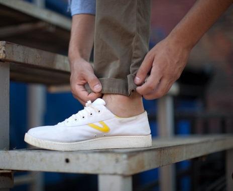 Как сделать подвороты на брюках