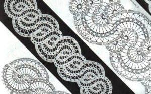 Рисунок брюггского кружева