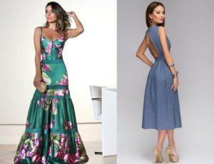 Модные образы сарафанов