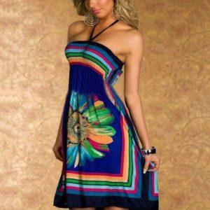 Модный сарафан в стиле бохо