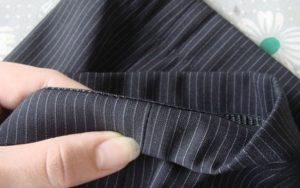 Как сделать манжеты на брюках