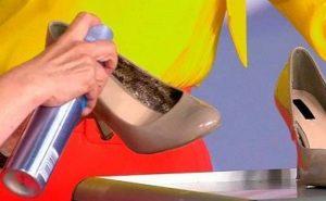 расширитель для туфель в виде спрея