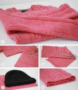 Что сделать из старого свитера