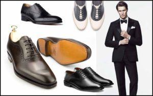 Туфли к деловому образу мужчины