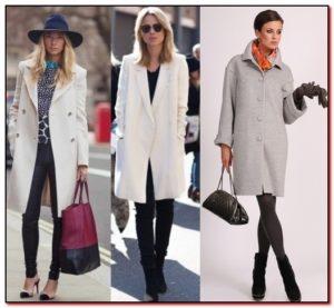 Каблуки для пальто ниже колена