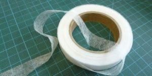 Лента паутинка для подшивки брюк